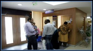 Exit Counter at PSK