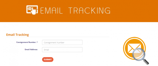 First Flight Couriers Email Tracking