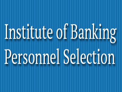 Institute of Banking Personal Section