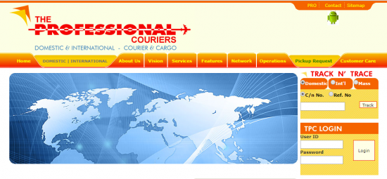 The Professional Courier Services
