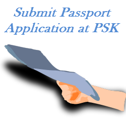 Submit Passport Application at PSK