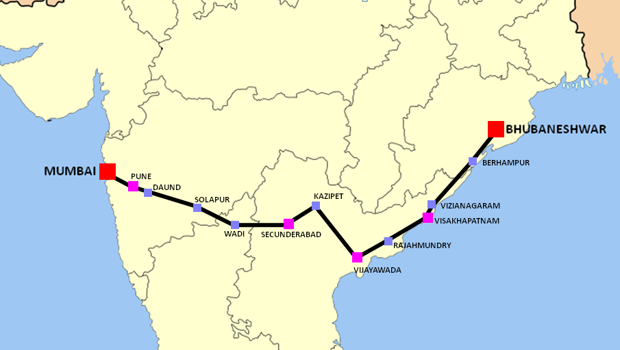 Konark_express_route