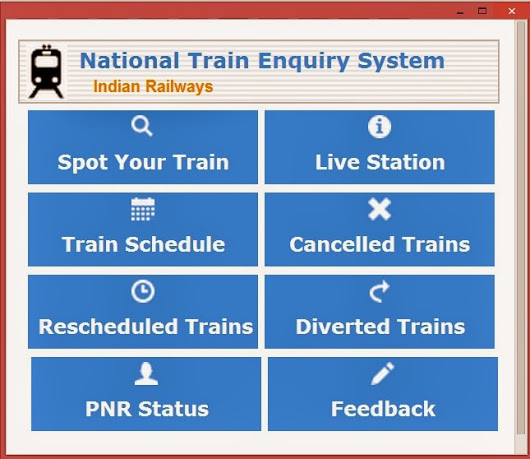 National-Train-Enquiry-System