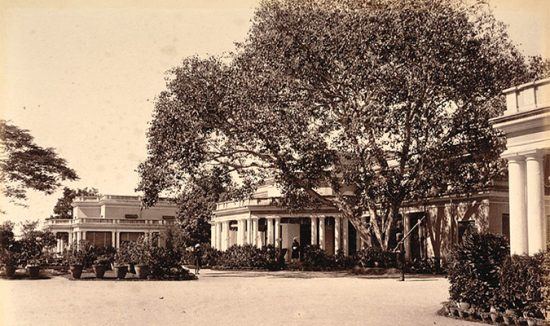 president residence at hyderabad