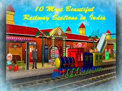 10 Most Beautiful Railway Stations in India
