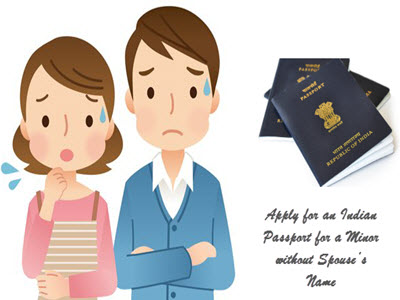 Apply for an Indian Passport for a Minor without Spouse's-Name