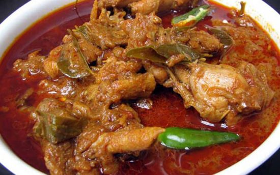 Chicken Curry in Andhra Style