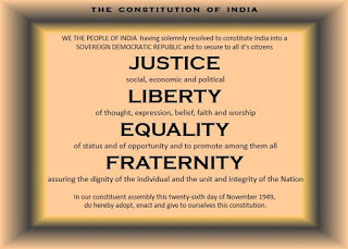 From other country constitutions, constitution of India borrowed few certain points.