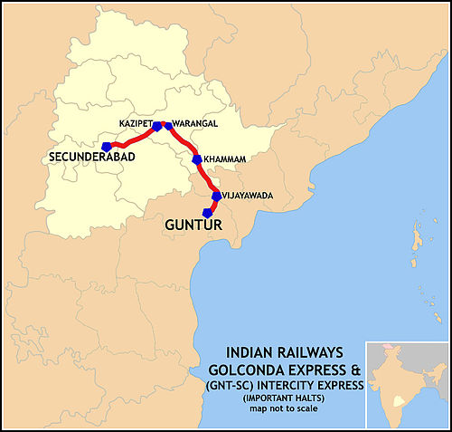 Golconda_Express_(SC-GNT)_Intercity_Express_Route_map