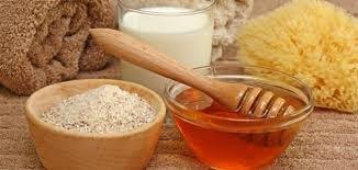 Wheat Bran and Honey Face Pack