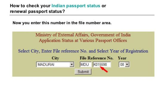 how-to-check-the-indian-passport-status