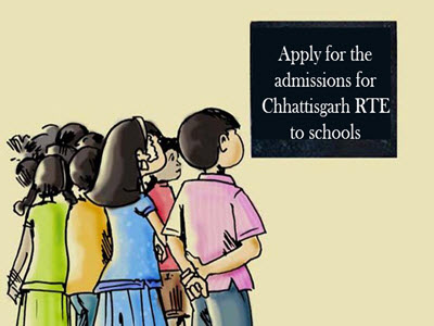Apply for the admissions for Chhattisgarh RTE to schools