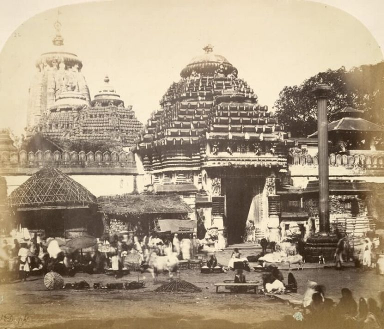 Entrance to the Jagannatha Temple