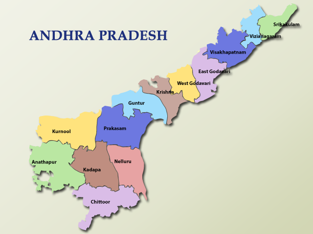 District Maps of AP State