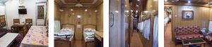 IRCTC Train saloon pictures