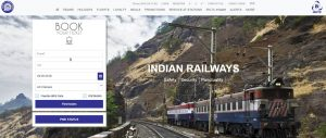 IRCTC nget website