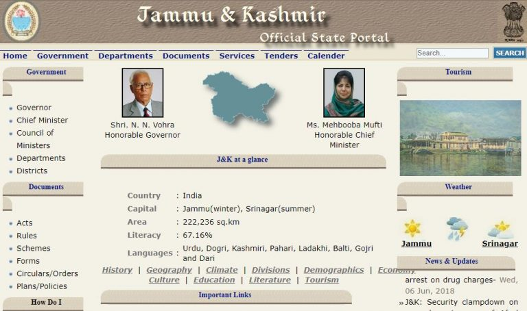 Jammu and Kashmir State