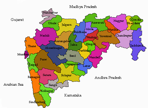 Maharashtra State Districts