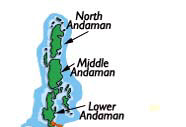 North and Middle Andaman