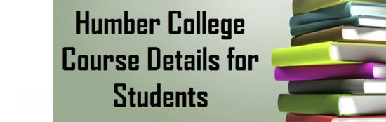humber college courses