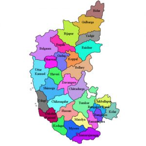 Karnataka State Districts