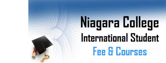 niagara college international fee and course