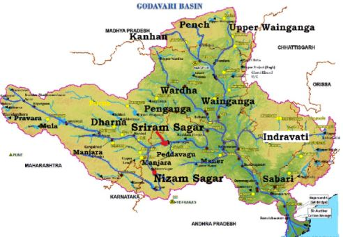 godavari river in hindi