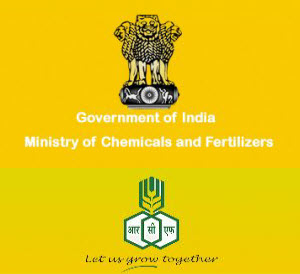 Ministry of chemicals and fertilizers logo