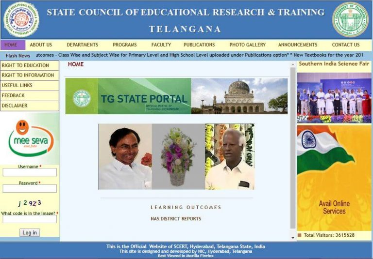 State Council of Educational Research and Training Telangana