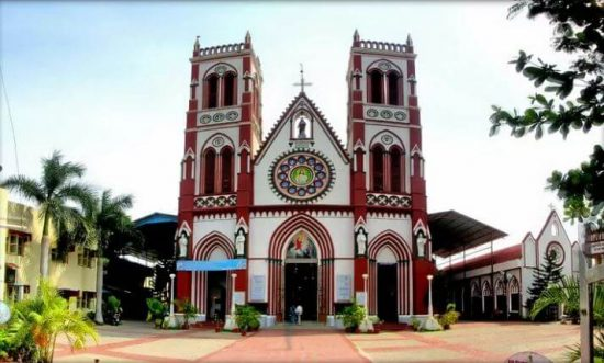 The Basilica of the Sacred Heart of Jesus