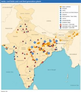 coal reserves in india