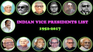 list of vice president of india