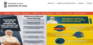 ministry of coal website