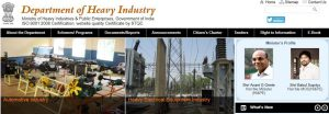 ministry of heavy industries
