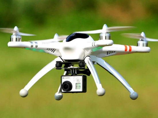 Commercial drone in India