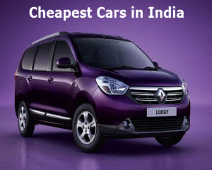 cheaptest cars in India