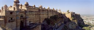 Gwalior fort panorama view