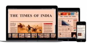 ePaper times of india