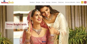 Reliance Jewellery Branches in India