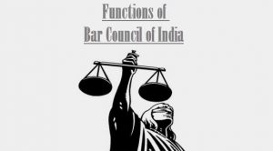 bar council of india rules