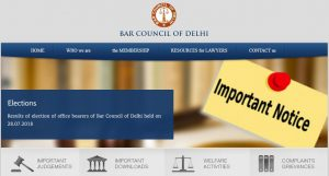 state bar council of delhi