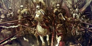 winged hussars soldiers