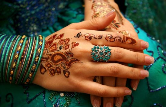 Colorful-Mehandi-design