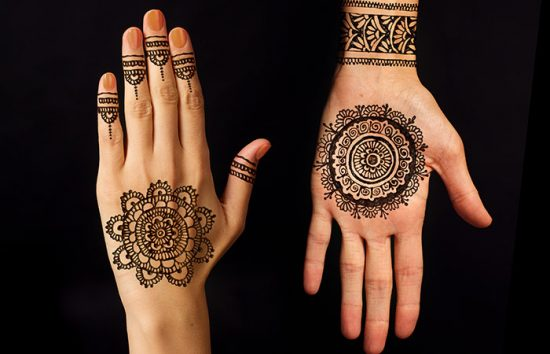 Curved-Mehndi-Design