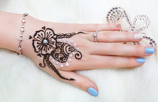 Pearl-or-Moti-Mehndi-Design