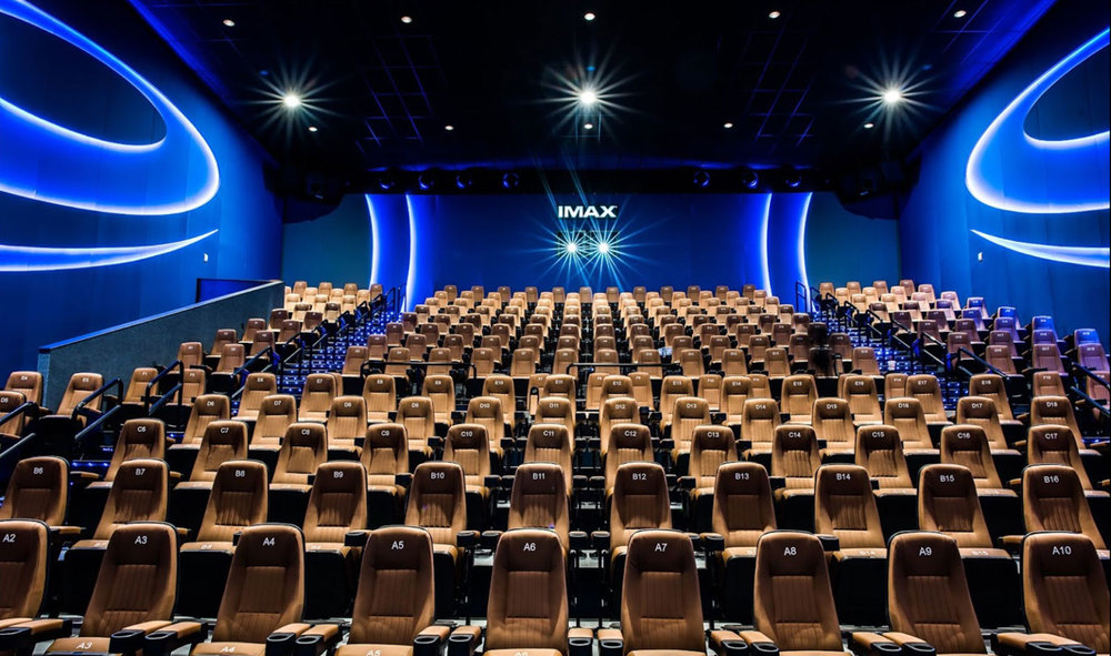 top 10 IMAX theatres in India