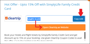 cleartrip promocodes