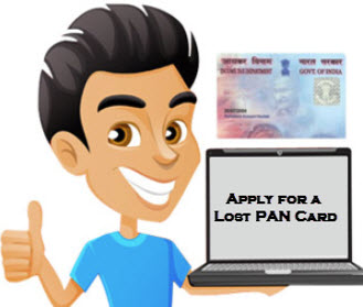 Apply for a Lost PAN Card