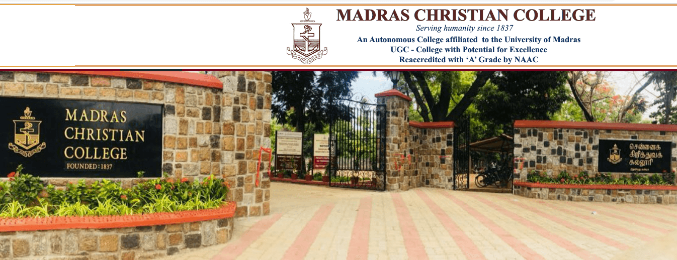 Madras Christian college chennai