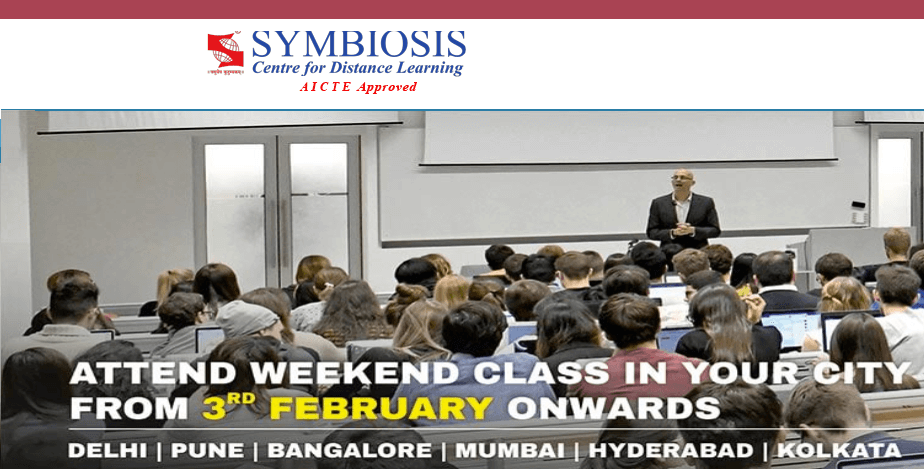 Symbiosis Center for Distance Learning (SCDL), Pune